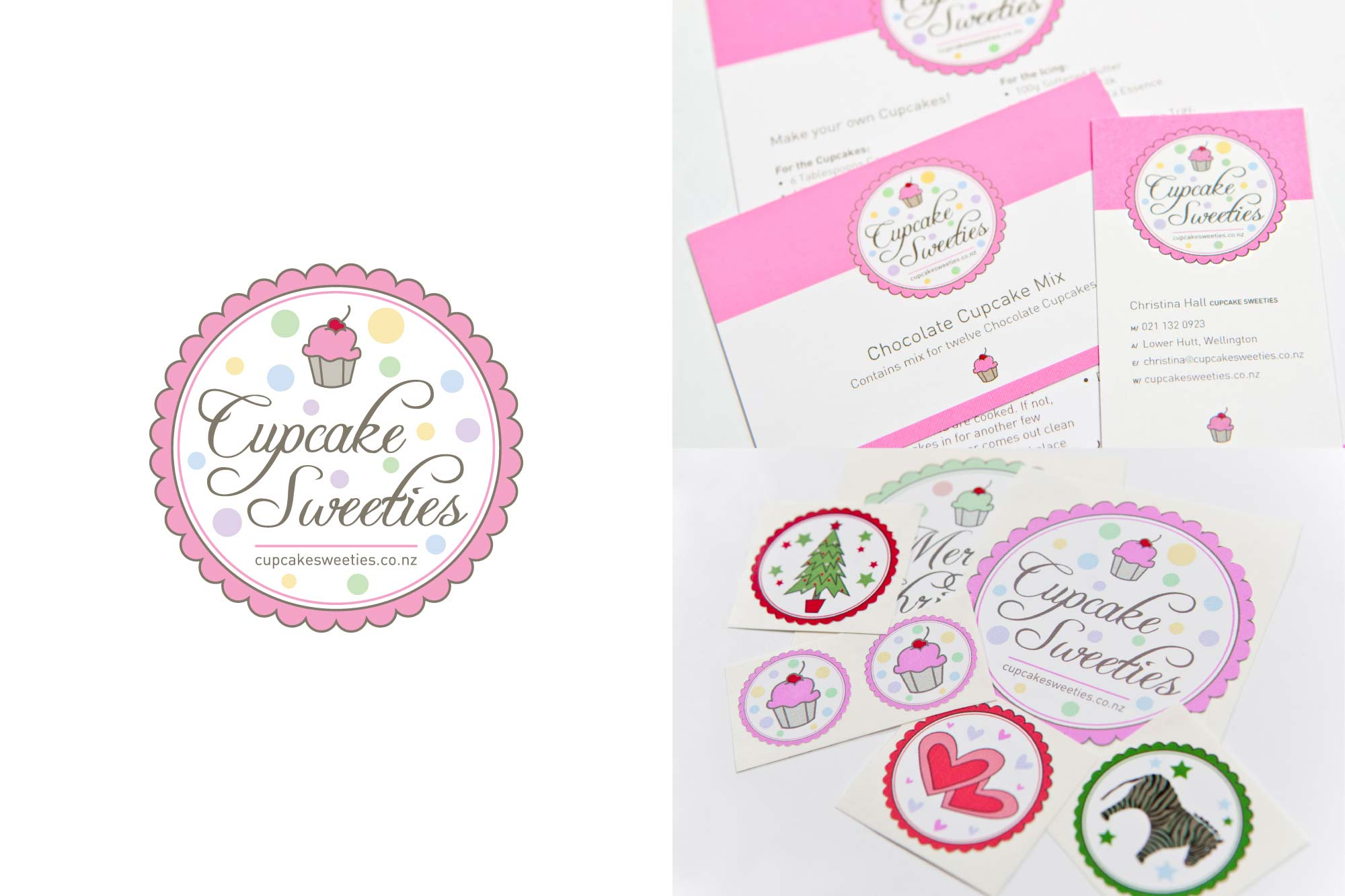 BRAND + COLLATERAL / Cupcakes Sweeties