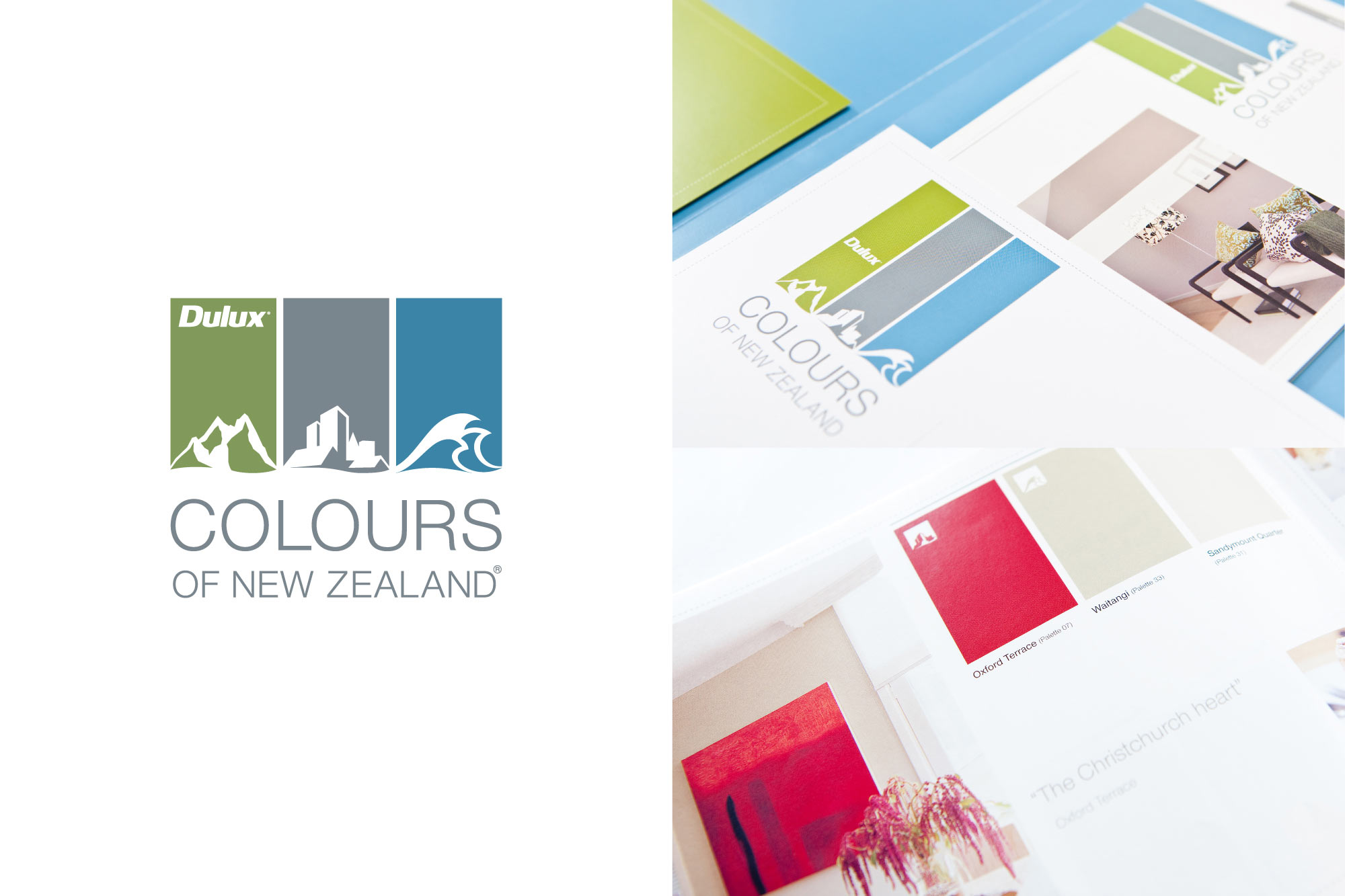 BRAND + COLLATERAL / Dulux – Colours of New Zealand