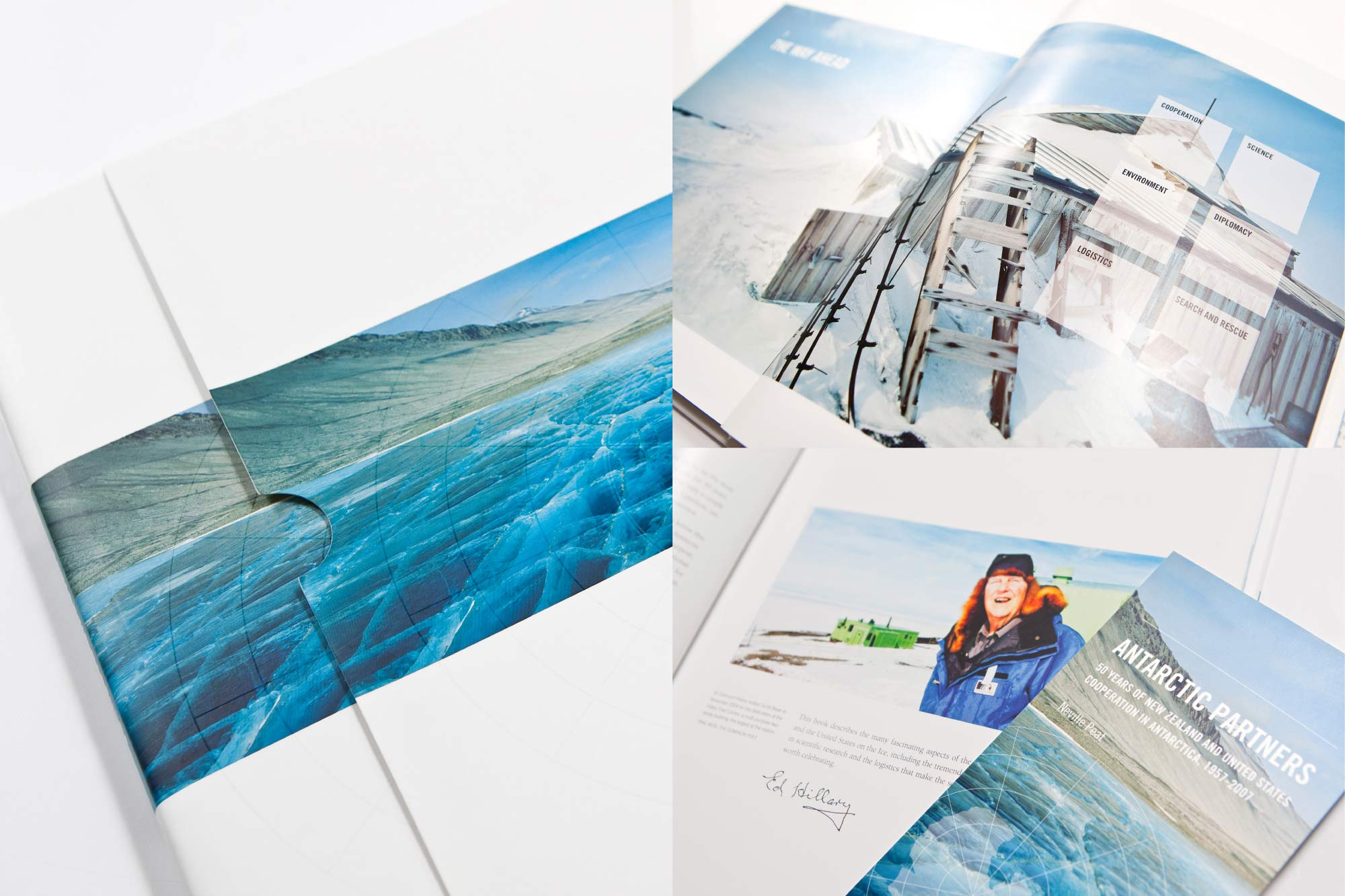 ANTARCTIC PARTNERS COFFEE TABLE BOOK / MFAT