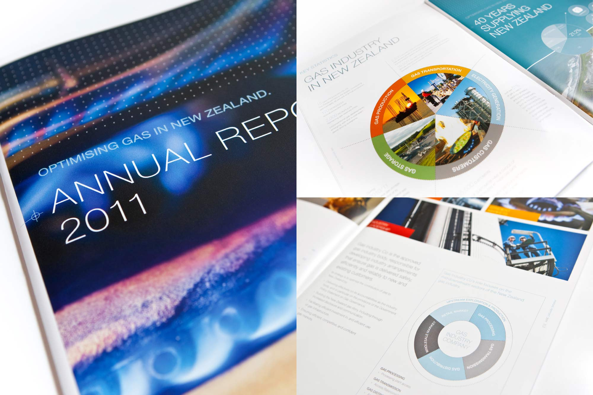 ANNUAL REPORT + STATEMENT OF INTENT / Gas Industry Company