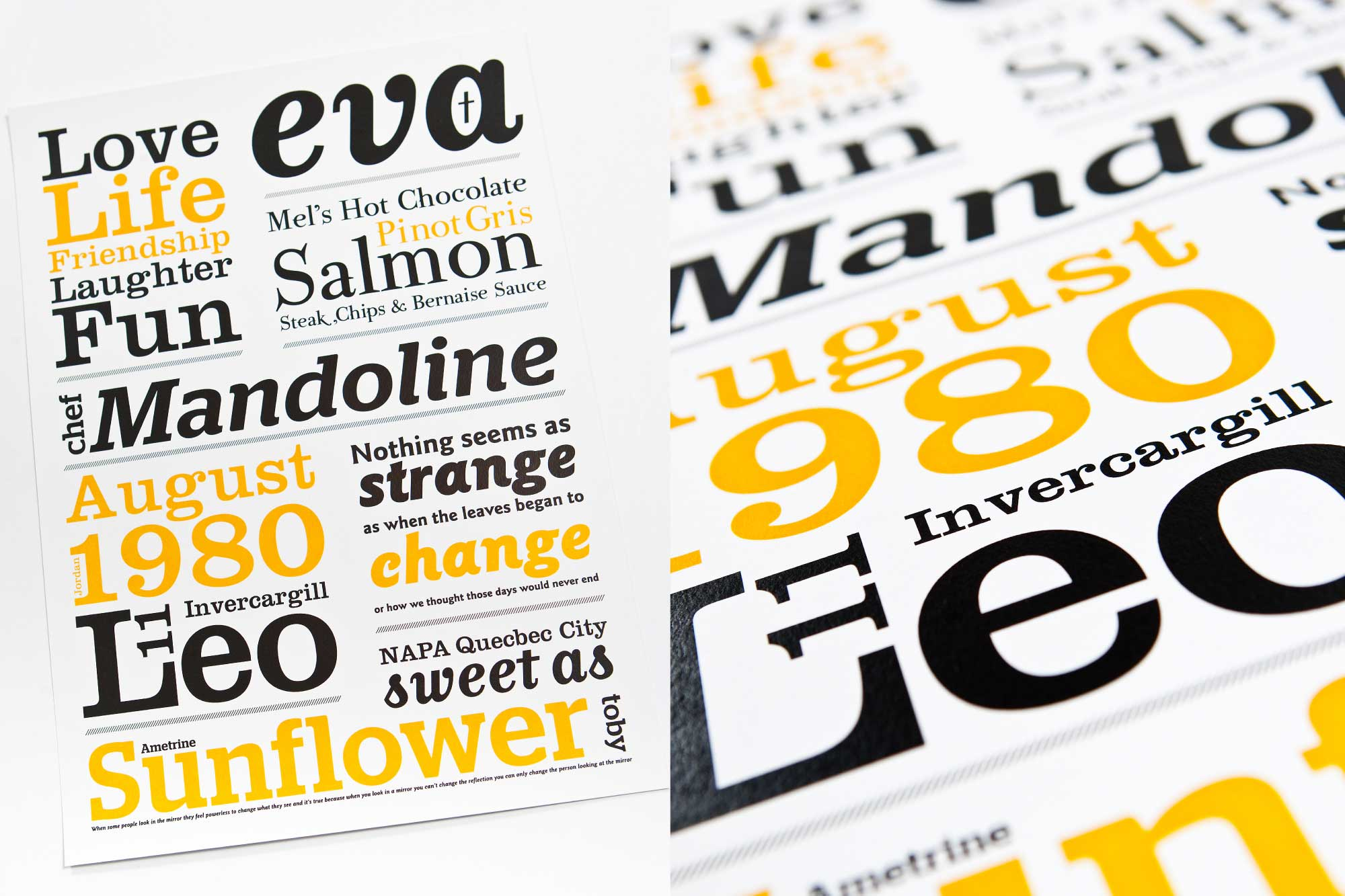 TYPOGRAPHY / 30th Type Poster