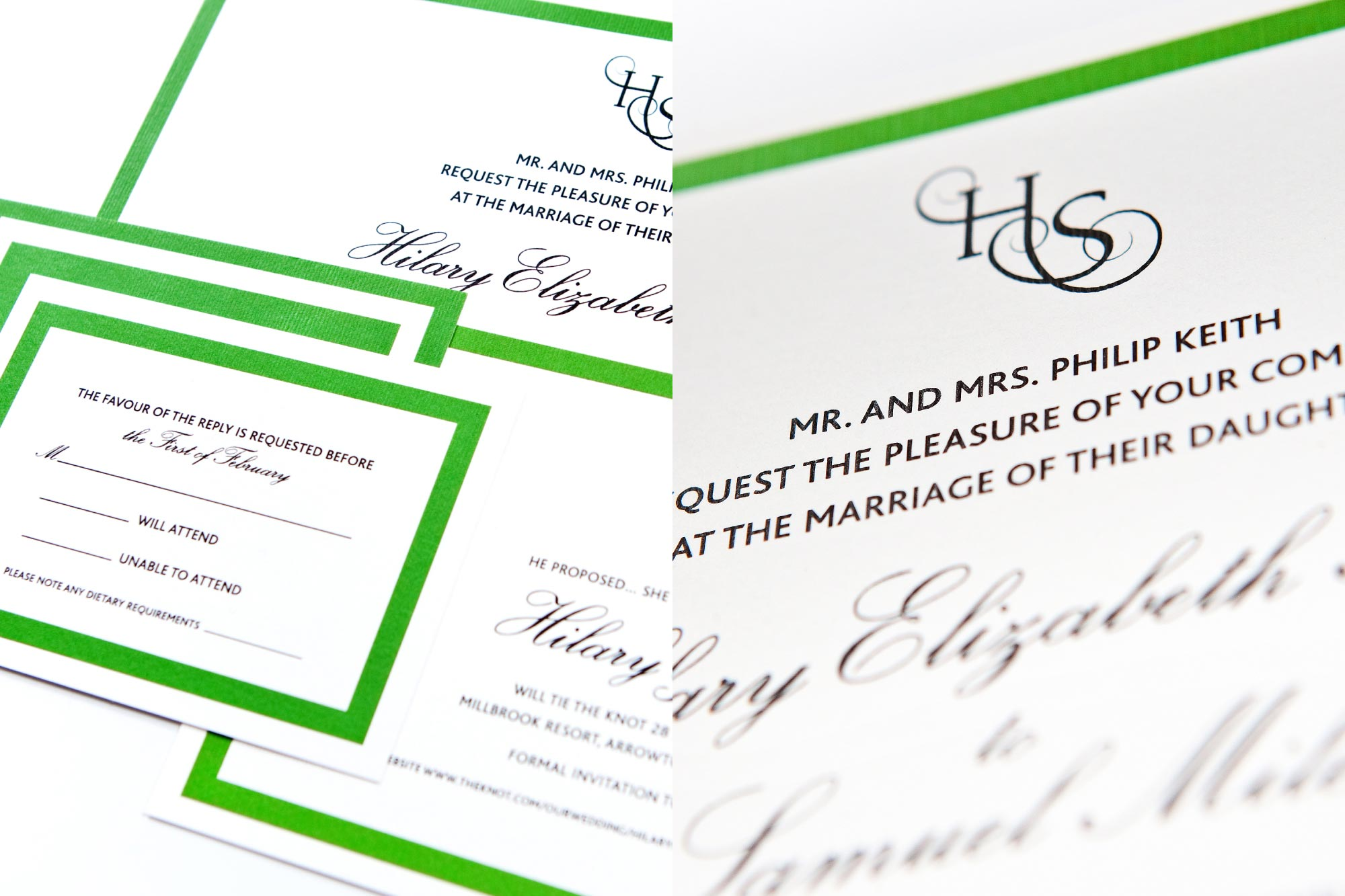 WEDDING STATIONERY / Logotype