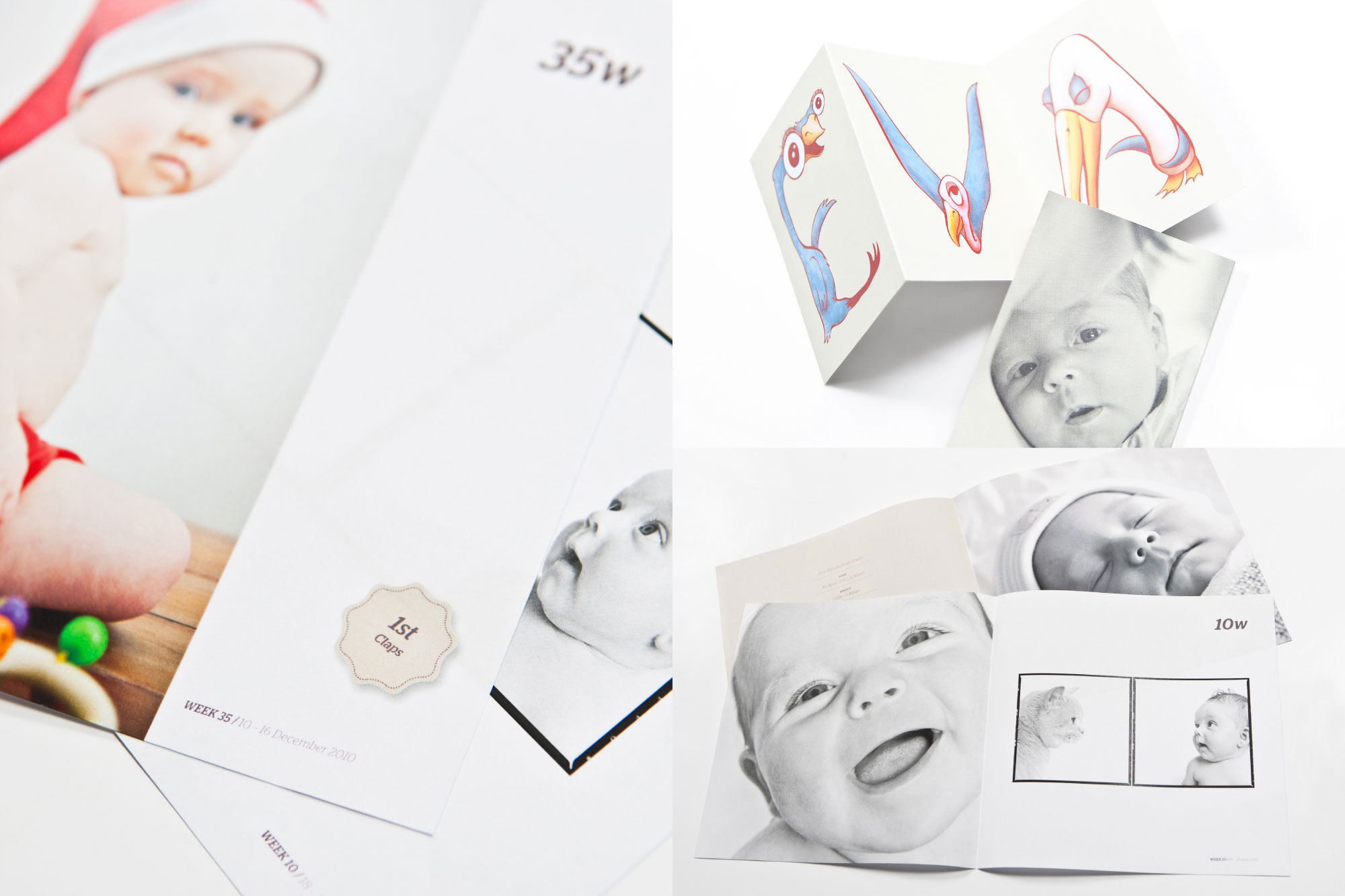 COFFEE TABLE BOOK + CARD / First 18 months